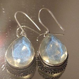 Jewelry - Created Milky Opal Earrings
